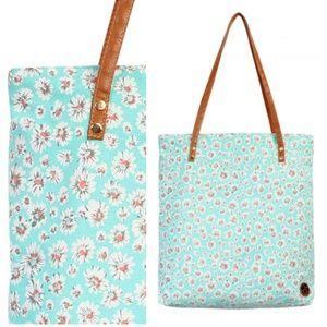 Handbags - Floral Mint Tote